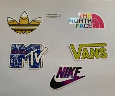 Radom stickers