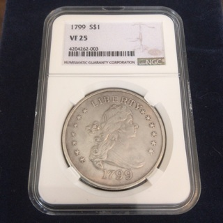 Draped Bust 1799 Coin