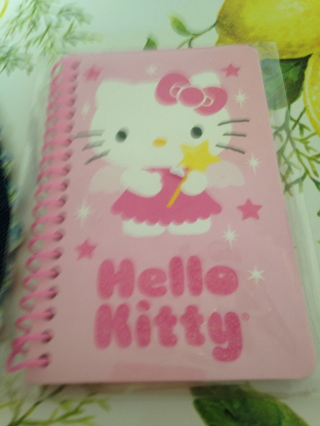 NBIP Hello Kitty Glitter Cover Journal