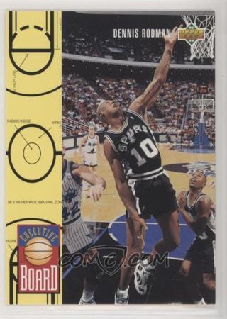 1993-94 Upper Deck #421 Dennis Rodman EB