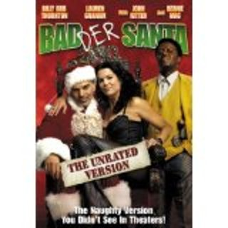 Badder Santa dvd unrated widescreen