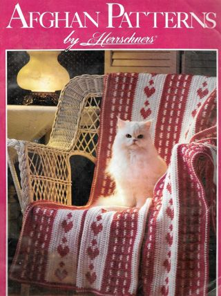 Afghan Patterns by Herrschners-5 diff Afghan Patterns