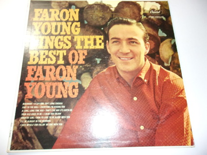Faron Young Sings The Best of Faron Young-T 1450-LP VG