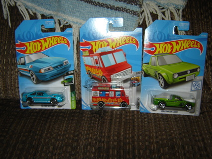 NIP'S! 3 Hot Wheels