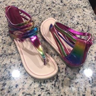 Girls Size 1 Sandals