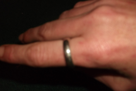 .925 STERLING SILVER BAND
