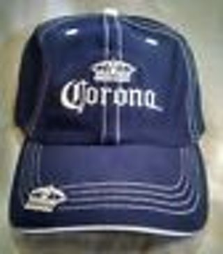 """Blue Corona relax fit Hat 100% cotton """"free shipping"""""""