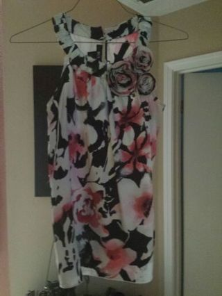 Beautiful floral shirt for night or day