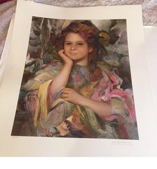 Francisco Masseria Rare Art Work Signed Ltd Ed #128/250