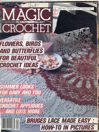 Crochet Magazine: Magic Crochet: April 1987