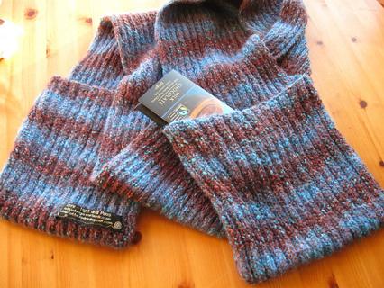 Free Knitting Pattern Scarf With Pockets Knitting Listia Com