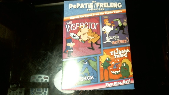 "New in Sealed Box: ""Depatie/Freleng Five DVD Classic Cartoon Collection"""