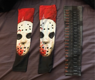 a80522892 3 compression arm sleeves for any use Nike Adidas Friday the 13th bullet under  armour armor