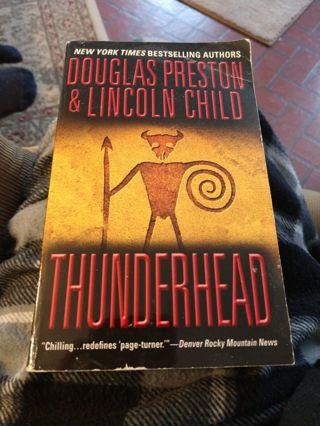 Thunderhead by Preston & Child (paperback)