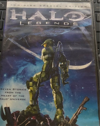 Very Gently Used DVD: HALO Legends Duo Discs! No Scratches!