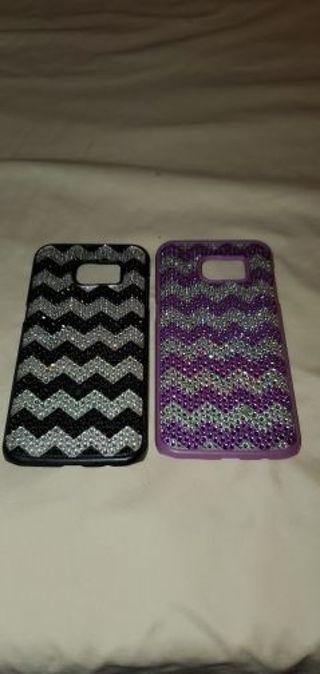 Set of 2 Samsung Galaxy s8 plus phone cases