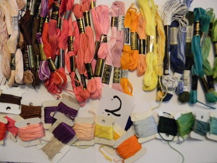Embroidery Floss- Lots of Colors! Free Ship!