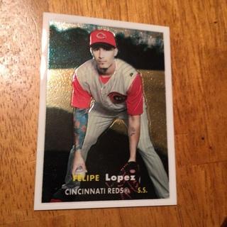 2006 Topps Heritage - Chrome #73 Felipe Lopez /1957