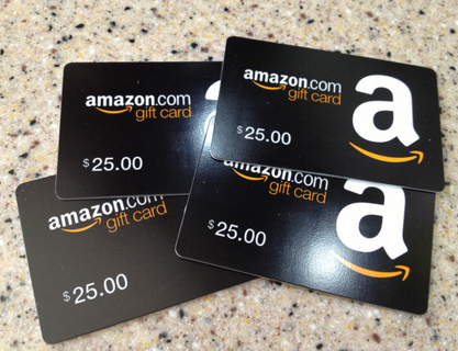 free 100 dollar amazon gift card gift cards auctions for free stuff. Black Bedroom Furniture Sets. Home Design Ideas