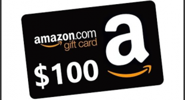 free 100 amazon gift card very fast delivery gift cards auctions for free stuff. Black Bedroom Furniture Sets. Home Design Ideas