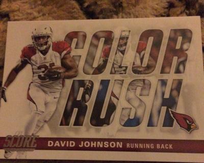 David Johnson color rush