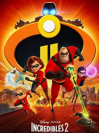 Incredibles 2 HD iTunes Digital Code