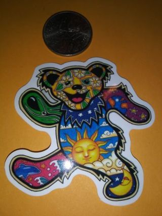Bear nice vinyl sticker no refunds regular mail only Very nice
