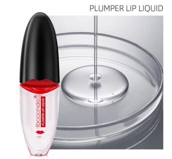 5ml Sexy Full Lips Lip Plumper Transparent Lip Gloss Moisturizing Tint Lip Pump Waterproof
