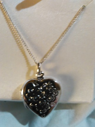 sterling silver locket