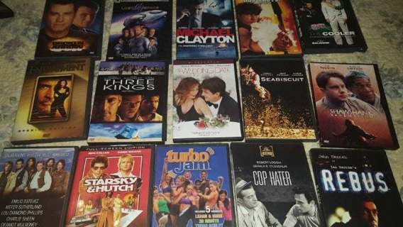 15 + DVDs Beach Body Turbo Lost in Space