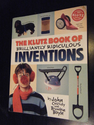 Ridiculous Inventions book by Klutz