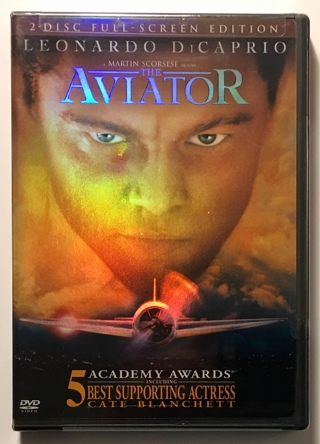 The Aviator 2-Disc DVD Movie (Leonardo DiCaprio)- Brand New Factory Sealed!