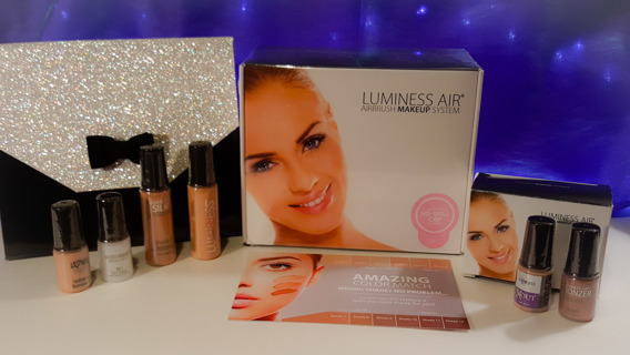 L@@K! New $234 The Luminess Legend Airbrush Cosmetics & SkinCare System, Starter Kit & Bonus!