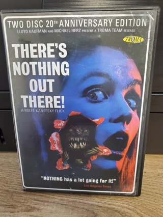 """DVD - """"There's Nothing Out There!"""" - not rated"""