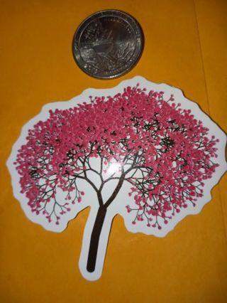 Flower pretty vinyl sticker no refunds regular mail only Very nice no lower