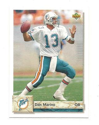 1992 Upper Deck Dan Marino