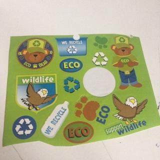 Eco stickers #4