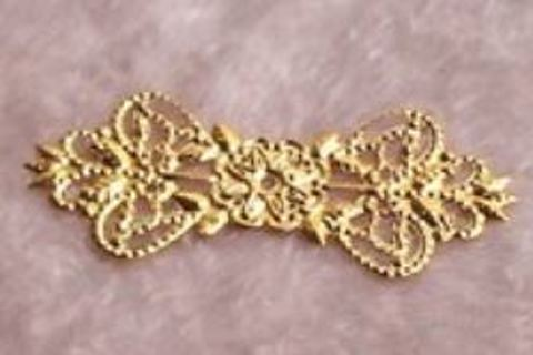Gold Color Embellishments Qty 2