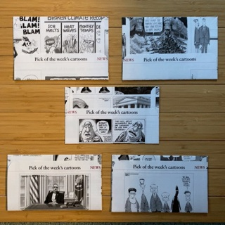 5 Cartoon Envelopes