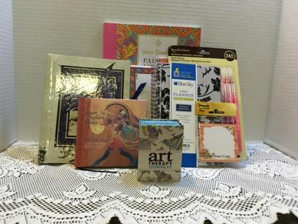 Mixed Anti-stress, Organization, Relaxation Book Lot