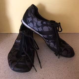 COACH Kate Sneakers Black Size 7