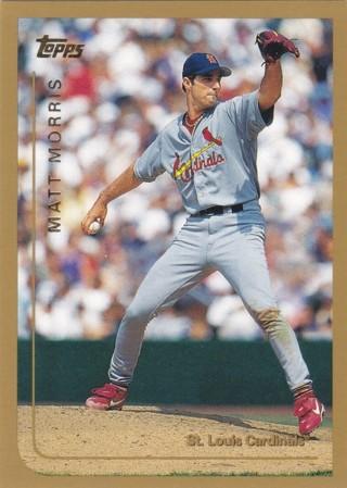 Matt Morris 1999 Topps St. Louis Cardinals