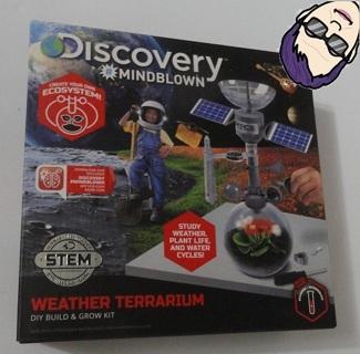 *NIB* STEM Discovery Weather Terrarium Build & Grow Kit