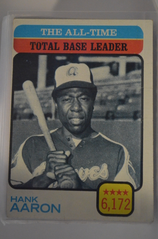 Free 1973 Topps Hank Aaron 473 All Time Base Leader