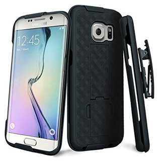 SAMSUNG GALAXY s7 EDGE Cell Phone Case Clip Holster Kickstand Scratch Resistant Shock Absorbent