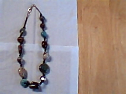 CHAKRA Necklace, Hand Made****OLD!! LOWERED START BID++