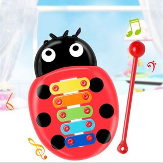 Toy Wisdom Development 5-Note Beetle Xylophone For Baby Child Kid Musical Toys