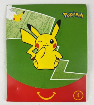 2021 McDonalds Happy Meal Pokemon Cards ( # 4 Pokemon Pack) ~ FREE SHIPPING