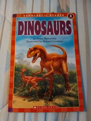 Dinosaurs -- Paperback Book -- Excellent Condition!!
