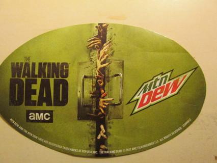 Walking Dead / Mt. Dew Sticker